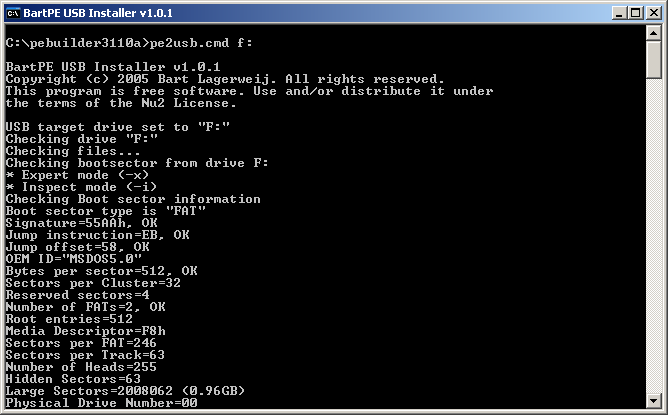 Edit syslinux.cfg in windows